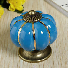 Home Ceramic Door Knobs Cabinet Drawer Wardrobe Cupboard Kitchen Pull Handle