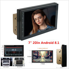 """7"""" Android 8.1 4-Core 2Din Car GPS Navigation Stereo Radio Bluetooth Wifi 3G/4G"""