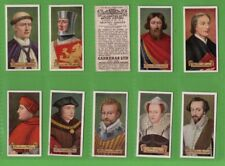 Tobacco Cigarette cards Celebrities of British History,  Shakespeare, Milton. ++