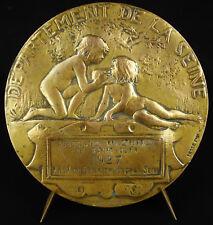 Médaille Enfants childrens 10cm Daniel Dupuis 1927 Saint Ouen Susse Frères medal