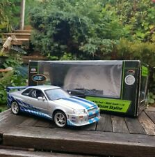 1:18 ERTL Fast And Furious Nissan Skyline GTR Racing Champions RARE Model Boxed