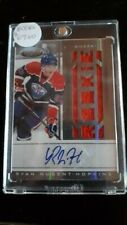 2011-12 Signened Ryan Nugent-Hopkins Rookie Card 293/499 rare Mint