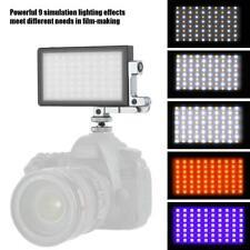 Boling BL-P1 12W RGB Taschen LED Videoleuchte Vollfarbe 2500-8500K für DSLR-Kame
