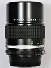 *** NEW NEVER USED *** Nikon 135mm F2.8 Ai-s F F3 FA FM2 FE2 F2 D7000 D600 FM3A
