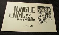 1972 JUNGLE JIM by Alex Raymond Part 1B B&W Sundays King Features KFS FN-