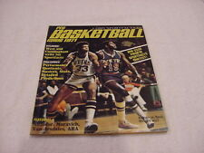 RARE 1971 Pro Basketball Guide, Lew Alcindor & Willis Reed Cover, HI GRADE!!