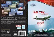 Airutopia Hong Kong Kai Tak 20th Anniversary Airport Airplane DVD Video-New