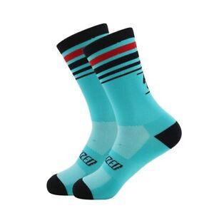 Pro Road Cycling Sock Teal +39-45 (UK)