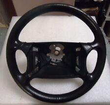 Porsche 944 Turbo 944S2 968 Oem Airbag Leather Steering Wheel Black