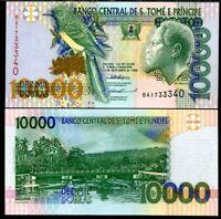 ST. THOMAS & PRINCE 10000 DOBRAS 1996 P 66 UNC