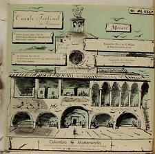 PABLO CASALS Festival at Perpignan Mozart LP VG+ ML 4567 CBS Mono 6 Eye USA Rare