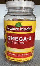 Nature Made Omega-3 Gummies.100 Ct Exp: 03/2021