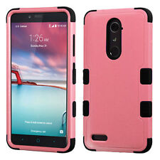 Shockproof Dual Layer Case Rugged Cover for ZTE Max Duo LTE Imperial Max Z963VL
