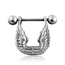 Nipples Piercing Nipple Angel Nipple Jewelry Stainless Steel Wing Nipple New