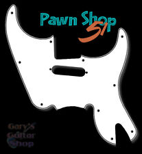 WD Music FENDER® PAWN SHOP '51 Pickguard - 3 Ply White/Black/White Made In USA!