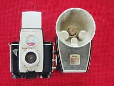 Kodak Brownie Reflex 20 Camera and Rotary Flasholder