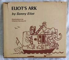 Vintage Signed Eliot's Ark by Sonny Eliot (1972, HC) Detroit, Mi Children's Book