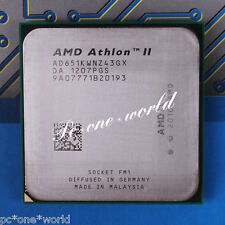 100% OK AD651KWNZ43GX AMD Athlon II X4 651K 3 GHz quad-core Processor CPU