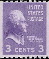 Scott#: 851 - Thomas Jefferson Single Stamp MNH OG -- Free Shipping --
