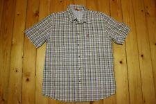 Fjallraven Herren Hemd Gr M Funktionshemd Sommer Shirt Outdoor Kurzarmhemd Top