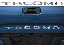 Chrome Tacoma Tailgate Letter Inserts For 2016-2017 Toyota Tacoma New Free Ship