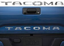 Chrome Tacoma Tailgate Letter Inserts For 2016-2018 Toyota Tacoma New Free Ship