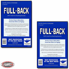 100 - E. Gerber FULL-BACK STANDARD 42pt Comic Book Backing Boards 700FB