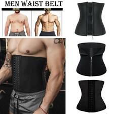 Men Waist Trainer Slimming Belt Weight Loss Neoprene Fat Burner Sweat Trimmer US