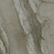 Glazed Inkjet Polished Porcelain Tile Rectified 24x24 Marble Look Monaco Grey