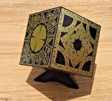 Hellraiser Puzzle Box Foil Face Cube Lament Configuration w/ Stand FULL SIZE