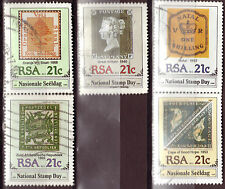 SOUTH AFRICA 1990 PENNY BLACK 150th ANNIVERSARY COMPLETE USED SET 1461