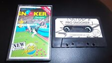 COMMODORE 64 GAME SNOOKER SIMULATOR. TESTED.