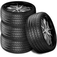 4 New Lexani Lx-Twenty 245/40R20 99W XL All Season UHP High Performance Tires