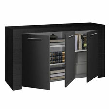 Black Dining Room Sideboards with Flat Pack