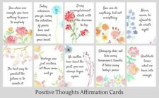 Handmade 20 Positive Thoughts Cards affirmation cards spiritual cards
