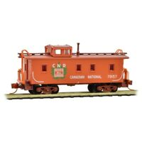 Canadian National CNR 34' Wood Sheathed Caboose Micro-Trains #051 00 130 N-Scale