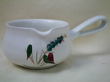 Denby Greenwheat Gravy Sauce Serving Jug Boat Excellent Condition