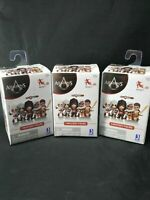Assassins Creed LOT OF 3 Mystery Mini Gamestop Ex Blind Box Jazwares Funko NEW