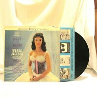 1962 Wanda Jackson Right Or Wrong Vinyl LP 33 Capitol Records ST 1596 Rock