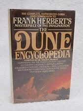 McNelly FRANK HERBERT'S DUNE ENCYCLOPEDIA  c.1984 Book Club Edition