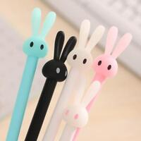 4x 0.5mm Cute Black Cat Gel Pen Creative Gift School Office Supplies Stationery