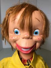Vintage Otis O'Brien Ventriloquist Dummy Boy Puppet 1972 Uneeda Doll Co Great Sh