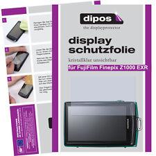 2x Fujifilm Finepix Z1000 EXR Schutzfolie klar Displayschutzfolie Folie Display