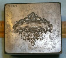 Antique ODD FELLOWS PGM Past Grand Master Badge Pin 6 Lb Stamping Die *MC LILLEY