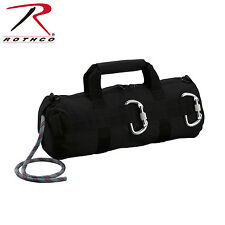 Rothco 8170 Black Stealth Rappelling Bag - Black