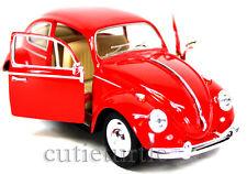 Kinsmart 1967 Classic Volkswagen VW Beetle 1:24 Red