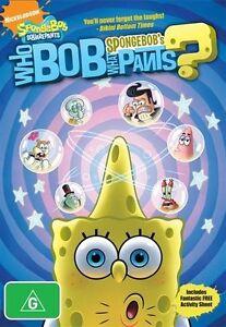 Spongebob Squarepants DVD Who Bob What Pants New Sealed Australia Region 4