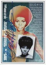 GLORIA HENDRY Signed 7X5 Photo Card ROSIE CARVER In LIVE AND LET DIE 007 COA
