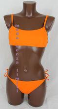 calzedonia L104 donna costume bikini fascia arancione tanga lacci 4 L 80 95 36