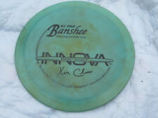 Kc Pro Cal Banshee 10X Ken Climo Golf Disc Very rare Green color disc 172gm